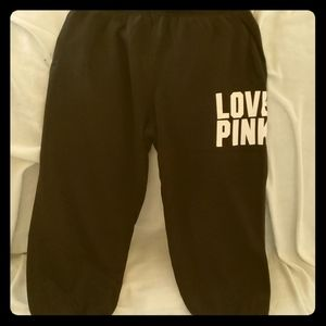 Women's PINK KNEE PANTS WITH POCKETS